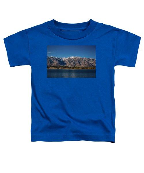 Jackson Lake Wyoming Toddler T-Shirt