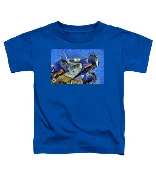 Junkers Ju 52 Van Gogh Toddler T-Shirt