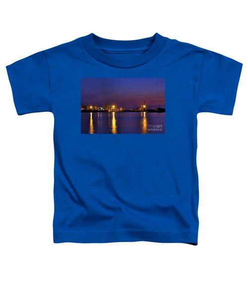 Kaohsiung Port At Dusk Toddler T-Shirt