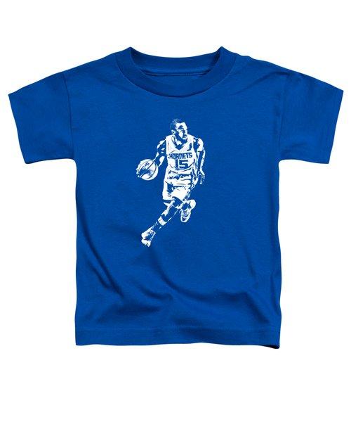 Kemba Walker Charlotte Hornets T Shirt Apparel Pixel Art 4 Toddler T-Shirt