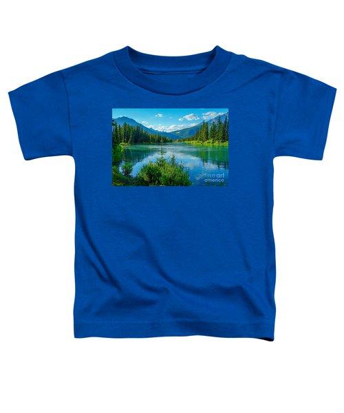 Lake At Banff Indian Trading Post Toddler T-Shirt