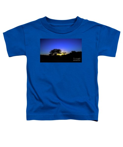 Last Light Texas Hill Country Paradise Canyon Sunset 8053a1 Toddler T-Shirt