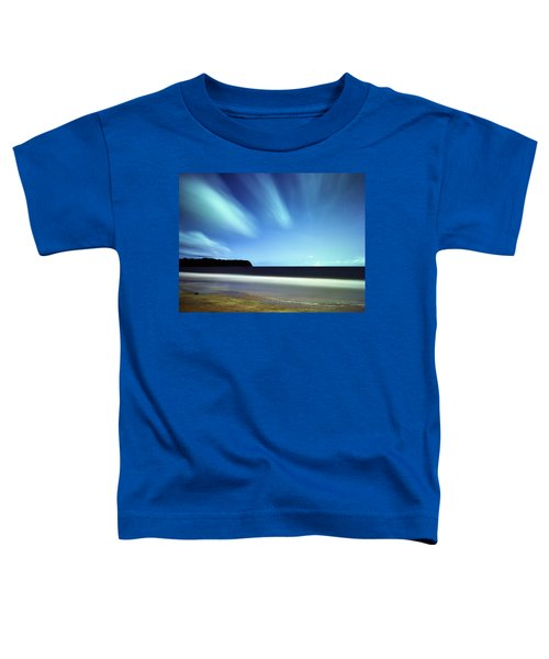 Linear Clouds Over Mayaro Toddler T-Shirt