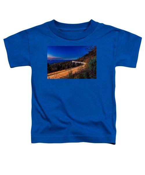 Linn Cove Viaduct - Blue Ridge Parkway Toddler T-Shirt