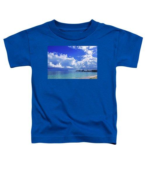 Massive Caribbean Clouds Toddler T-Shirt