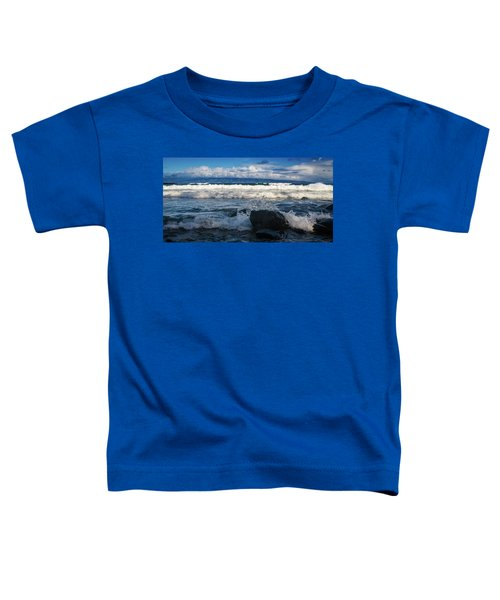 Maui Breakers Pano Toddler T-Shirt
