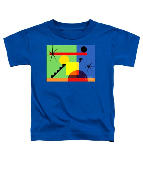 Mid Century Modern Abstract Over The Edge 20190106 Horizontal Toddler T-Shirt
