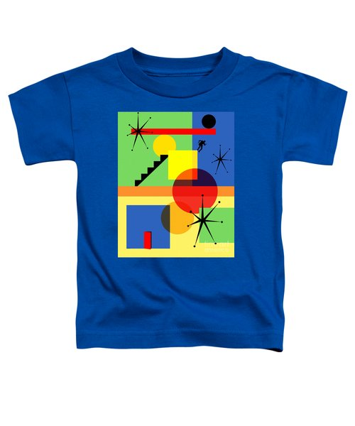 Mid Century Modern Abstract Over The Edge 20190106 Toddler T-Shirt