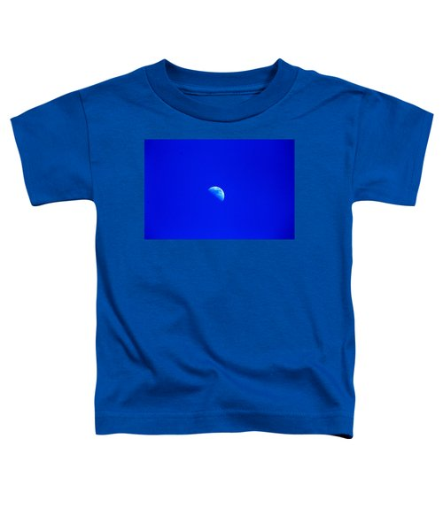 Moon In A Daytime Sky Toddler T-Shirt