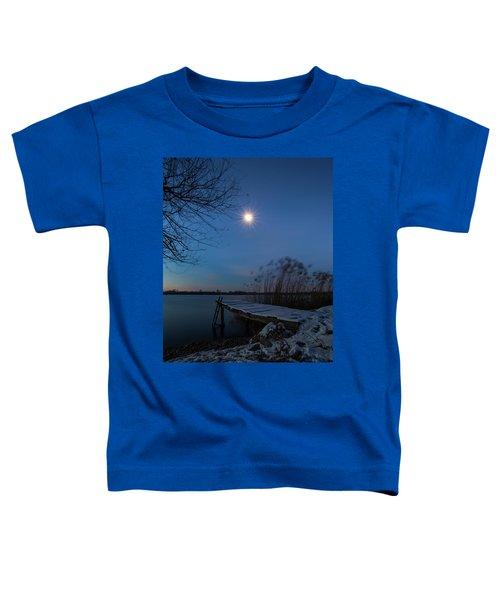 Moonlight Over The Lake Toddler T-Shirt