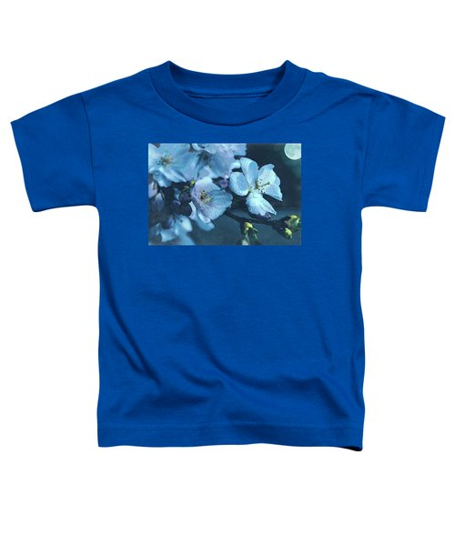 Moonlit Night In The Blooming Garden Toddler T-Shirt