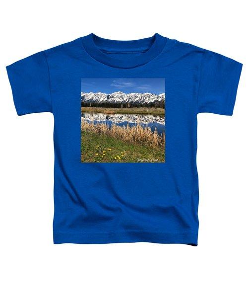 Mountain Reflection Toddler T-Shirt
