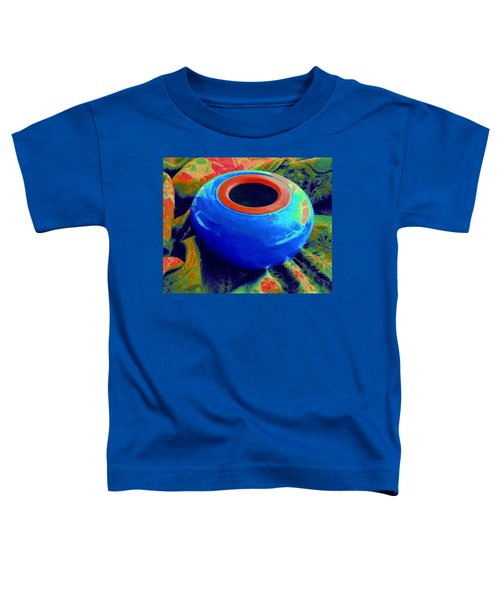 My Blue Bowl -  The  Gift Toddler T-Shirt