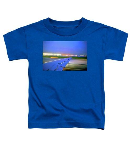 O'hare Night Takeoff Toddler T-Shirt