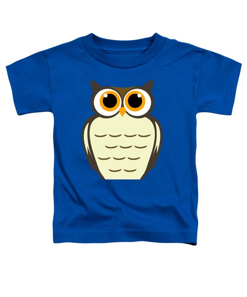 Owl Illustration Toddler T-Shirt