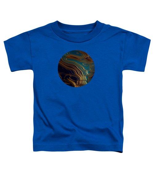 Peacock Ocean Toddler T-Shirt