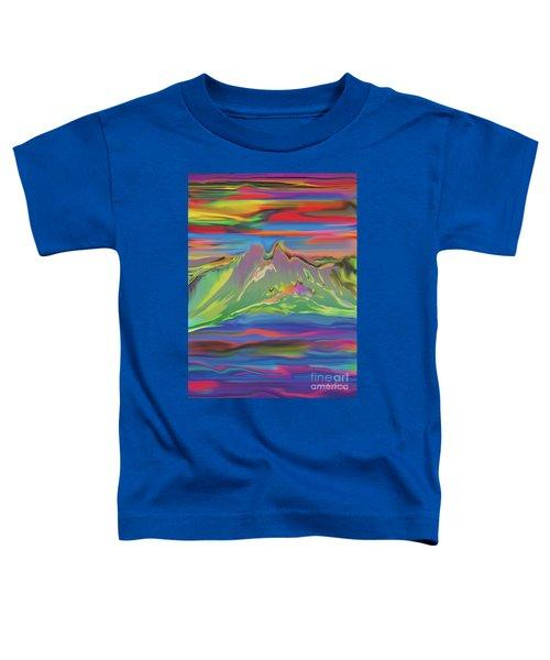 Santa Fe Sunset Toddler T-Shirt
