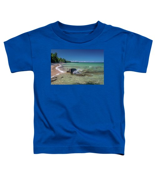 Secluded Beach Toddler T-Shirt