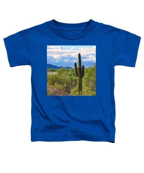 Sonoran Desert Landscape Post-monsoon Toddler T-Shirt