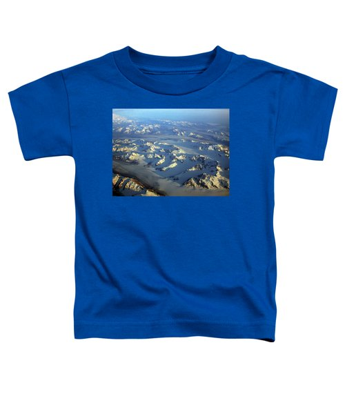Sun Kissed Glaciers Toddler T-Shirt