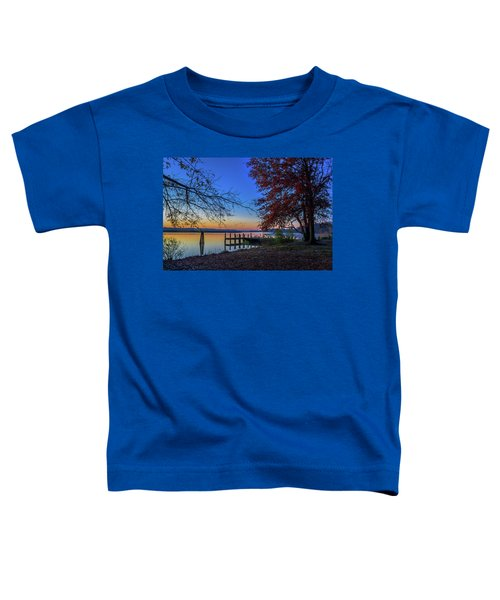 Sunrise On The Patuxent Toddler T-Shirt