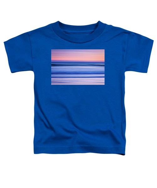 Sunset Abstract Toddler T-Shirt