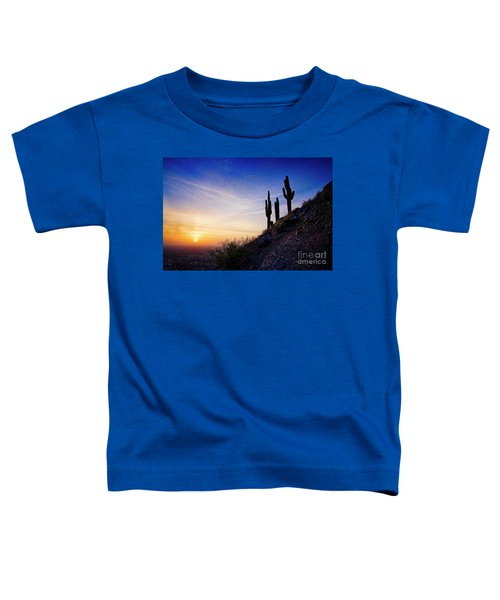 Sunset In The Desert Toddler T-Shirt