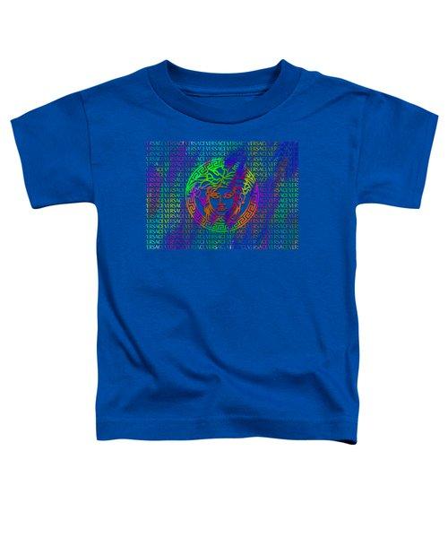 Versace Paint Pattern Design Toddler T-Shirt