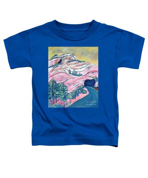 Wavy Rocks Toddler T-Shirt