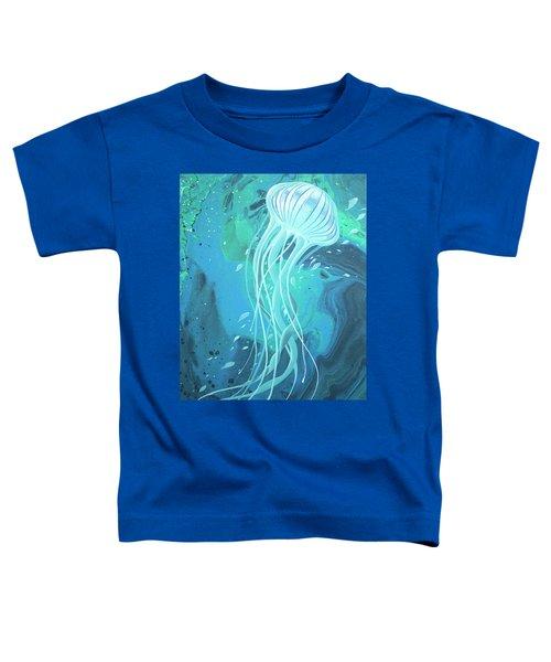 White Jellyfish Toddler T-Shirt