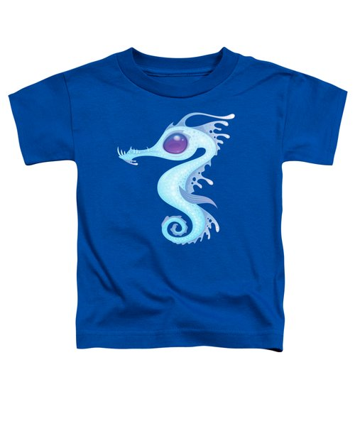 White Sea Dragon Toddler T-Shirt