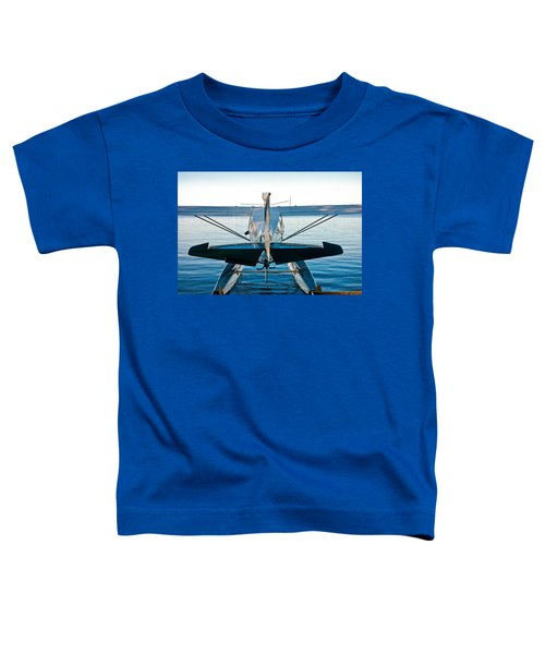 Toddler T-Shirt featuring the photograph Wild Blue by Carl Young