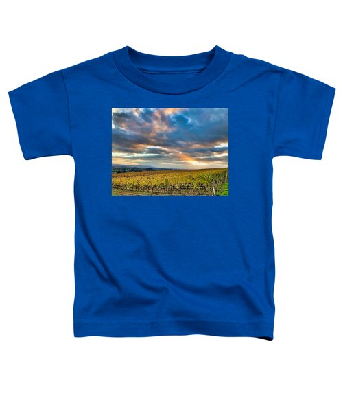 Willamette Valley In Fall Toddler T-Shirt