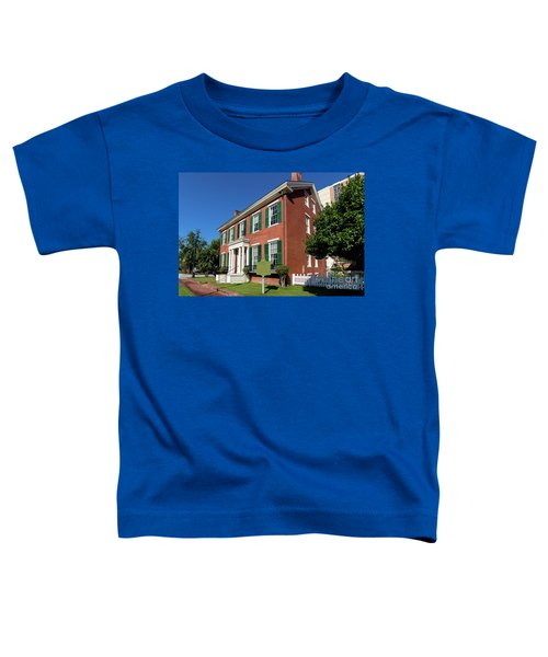 Woodrow Wilson Boyhood Home - Augusta Ga 2 Toddler T-Shirt