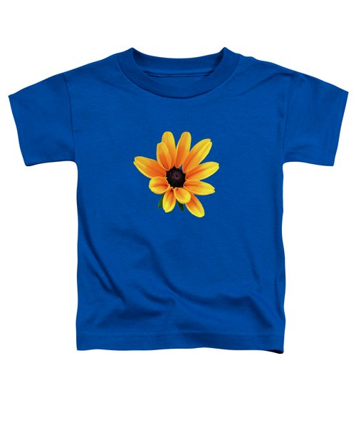 Yellow Flower Black Eyed Susan Toddler T-Shirt