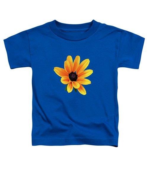Yellow Flower Black Eyed Susan Toddler T-Shirt