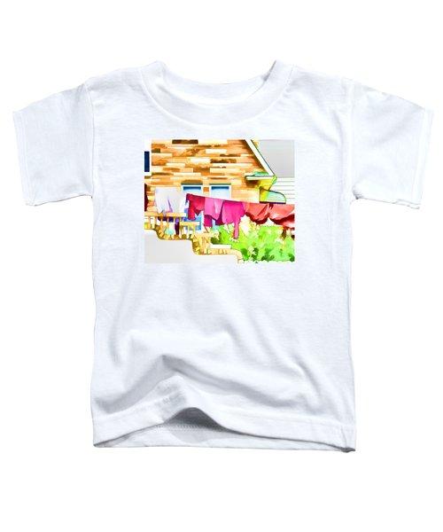 A Summer's Day - Digital Art Toddler T-Shirt