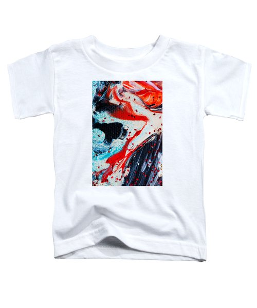Abstract Original Artwork One Hundred Phoenixes Untitled Number Fifteen Toddler T-Shirt