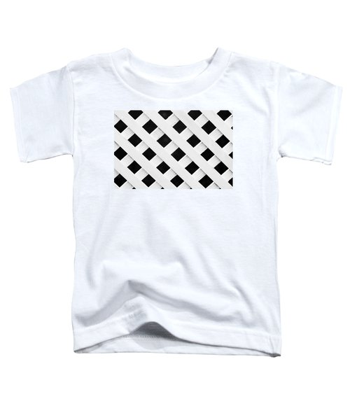 Lattice Fence Pattern Toddler T-Shirt
