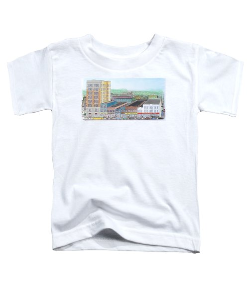 Portsmouth Ohio Dime Store Row 4th To 5th Toddler T-Shirt