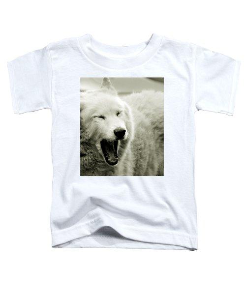 Yawning Toddler T-Shirt