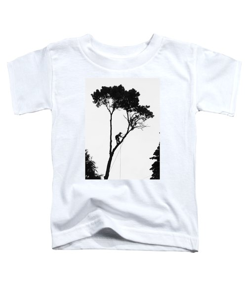 Arborist At Work Toddler T-Shirt