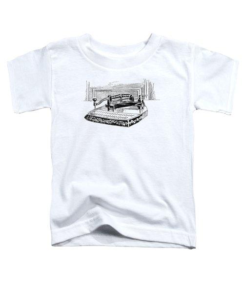 Census Machine, 1890 Toddler T-Shirt