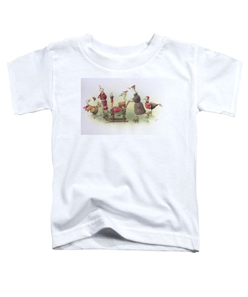 Ducks On Skates Toddler T-Shirt