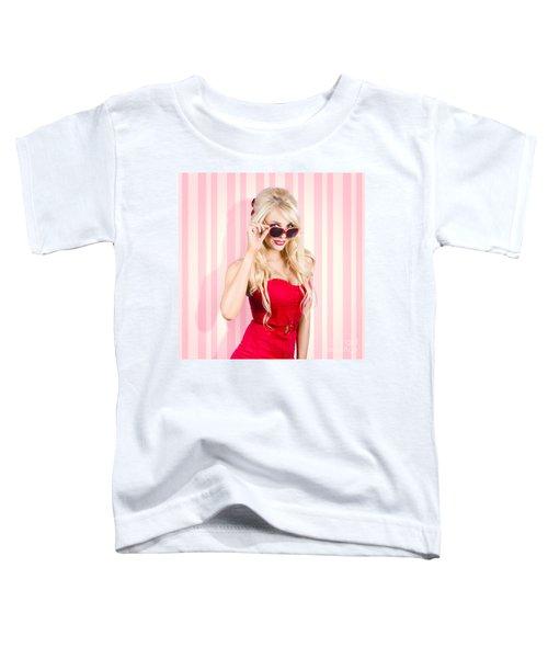 Elegant Fashion Look Toddler T-Shirt