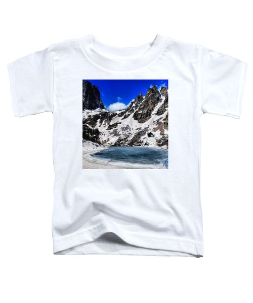 Emerald Lake In Rocky Mountain National Park Toddler T-Shirt