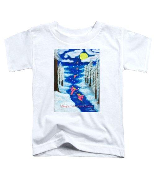Faery Merry Christmas Toddler T-Shirt