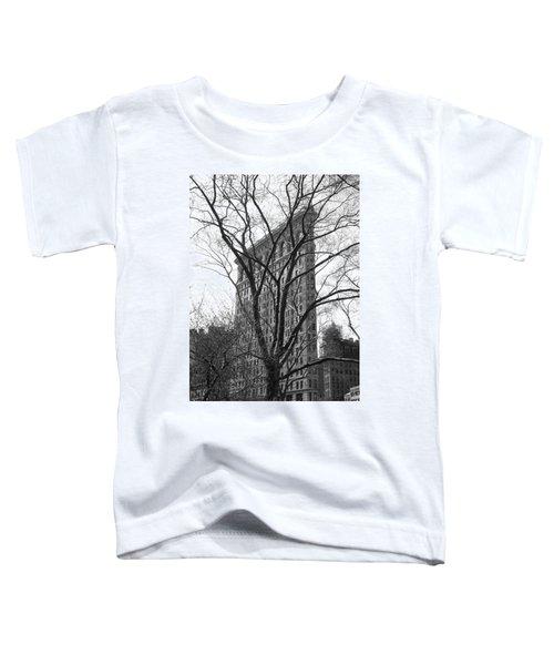 Flat Iron Tree Toddler T-Shirt