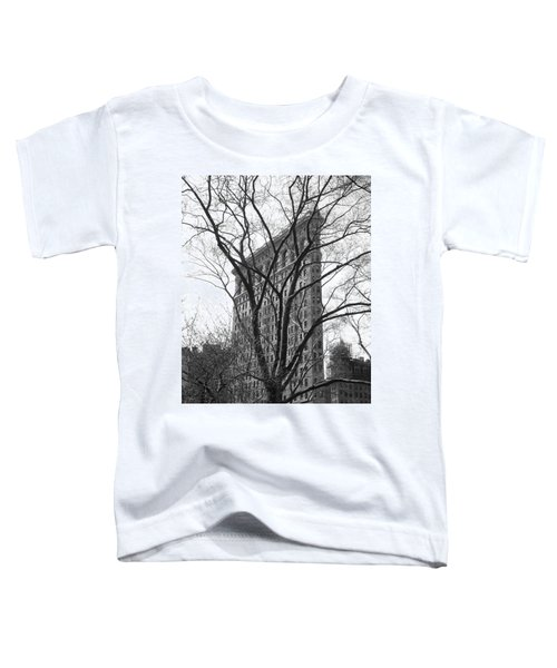 Flat Iron Tree Toddler T-Shirt