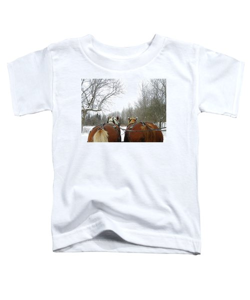 Gee And Haw Toddler T-Shirt